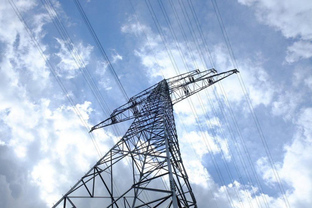 pylon, current, electricity